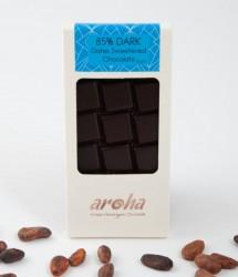 Aroha - Aroha Çikolata - Hurma Özlü %85 Bitter Şekersiz 80g
