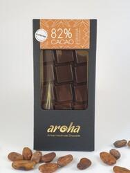 Aroha - Aroha Çikolata - Ballı %82 Kakao Şekersiz 110g