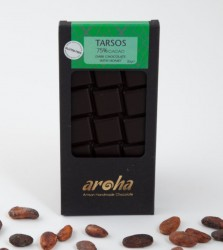 Aroha - Aroha Çikolata - Tarsos %75 Kakao Şekersiz 80g