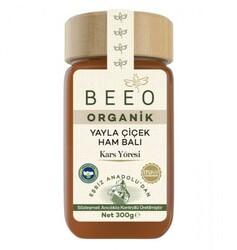 Beeo - Beeo Organik Çiçek Ham Balı - Kars Yöresi 300g