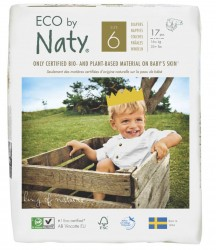 ECO BY NATY - Eco By Naty Ekolojik Bebek Bezi Xl (6) 17 Adet (16 Kg+)