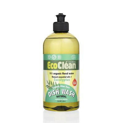 EcoClean Bulaşık Deterjanı Elde yıkama - Okaliptus 500 ml