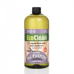 ECO CLEAN - EcoClean Çok Amaçlı Temizleyici - Konsantre - Lavanta 1000 ml