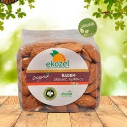 Ekozel - Ekozel Organik İç Badem 250g