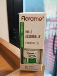 FLORAME - Florame Organik Kekik Esansiyel Yağı- Linalol Thyme 5 ml