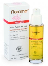 Florame - Florame Organik Kuru Cilt Tipleri İçin Yaşlanma Karşıtı (Anti Ageing) Bakım Yağı 30ml