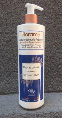 Florame Organik Lavanta Çiçeği Vücut Losyonu- Lavender Flower 400ml