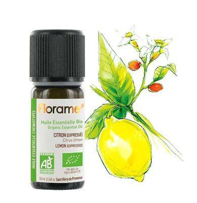 Florame Organik Limon Kabuğu Yağı - Citrus Lemon 10ml