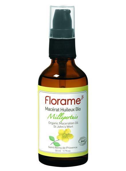 Florame Organik Sarı Kantaron Yağı 50ml Tümü Yağlar Florame