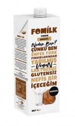 Fomilk - Fomilk Şekersiz Fındık Sütü 1lt