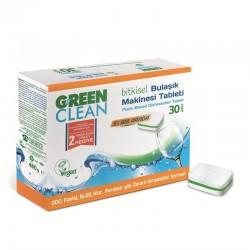 Green Clean - Green Clean Bulaşık Makinesi Tableti 30lu