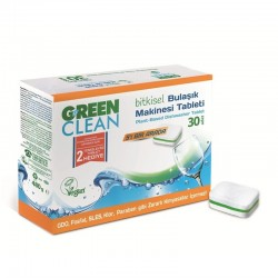 Green Clean - Green Clean Bulaşık Makinesi Tableti 30 AD.