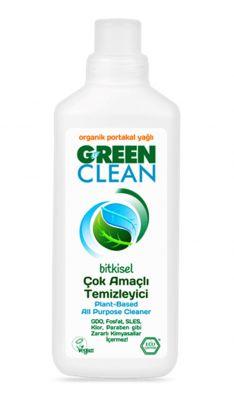 Green Clean Çok Amaçlı Temizleyici Portakallı 1000ml