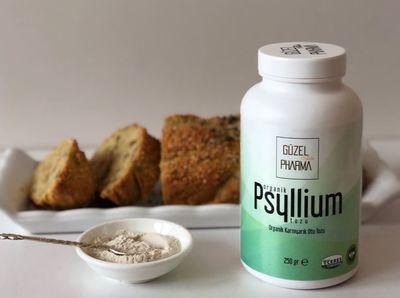 Güzel Gıda Organik Karnıyarık Otu Tozu (Psyllium) 250g