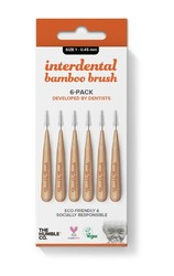 Humble Bamboo Arayüz Fırçası 1 (0,45mm) Turuncu - 6 adet - Thumbnail