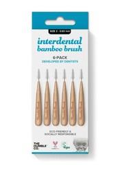 Humble Bamboo Arayüz Fırçası 3 (0,60mm) Mavi - 6 adet - Thumbnail