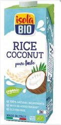 ISOLA BIO - isola Bio Organik Glutensiz ve Şeker İlavesiz Hindistan Cevizli Pirinç İçeceği 1000ml