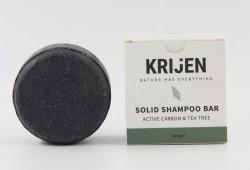 Krijen - Krijen Aktif Karbon & Çay Ağacı Katı Şampuan 100g
