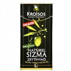 Kroisos - Kroisos Organik Zeytinyağı 5 lt.