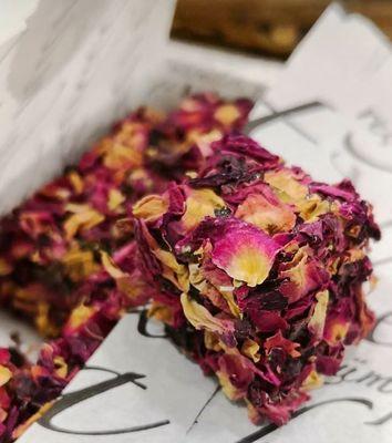 Lokum - Şekersiz Gül Yapraklı 250g