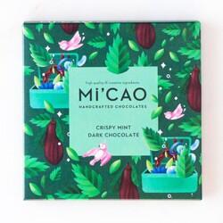 MiCao - MiCao Çıtır Naneli Bitter Çikolata 70g
