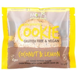 Moms Granola - Moms Coconut & Lemon Cookie Gluten Free 50g