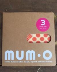 Mumo - MUMO Saklama Kumaşı 3 Orta Boy