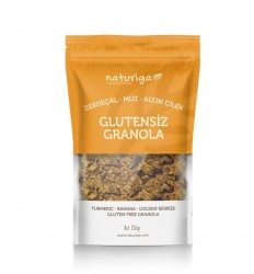 Naturiga - Naturiga Granola Zerdeçallı 250g