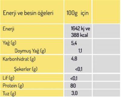 Naturiga Organik Bezelye Proteini Tozu 250g