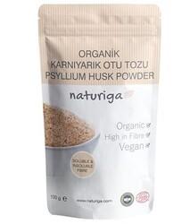 Naturiga - Naturiga Organik Karnıyarık Otu Tohumu Tozu 100g