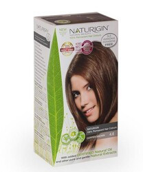 Naturigin - Naturigin Organik İçerikli Saç Boyası 4.6 Bakır Kahverengi