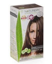 Naturigin - Naturigin Organik İçerikli Saç Boyası 5.0 Açık Çikolata Kahverengi