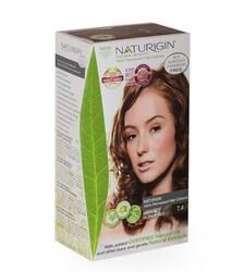 Naturigin - Naturigin Organik İçerikli Saç Boyası 7.4 Orta Sarı Kızıl