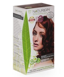 Naturigin - Naturigin Organik İçerikli Saç Boyası 7.55 Orta Alev Kızılı