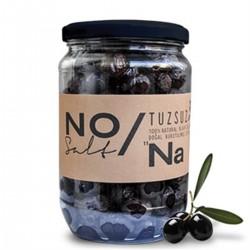 NONA - Nona %100 Tuzsuz Doğal Siyah Zeytin (480 gr)