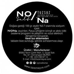 Nona %100 Tuzsuz Doğal Siyah Zeytin (480 gr) - Thumbnail