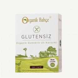Organik Bahçe - Organik Bahçe Organik Glutensiz Ekmeklik Un Karışımı 1000 Gr