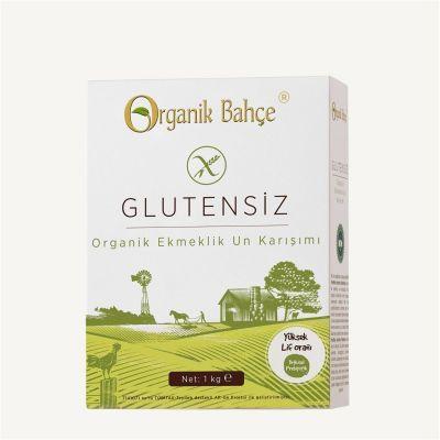 Organik Bahçe Organik Glutensiz Ekmeklik Un Karışımı 1000 Gr