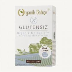 ORGANİK BAHÇE - Organik Bahçe Organik Glutensiz Tuzlu Unlu Mamüller için Un Karışımı 500 gr