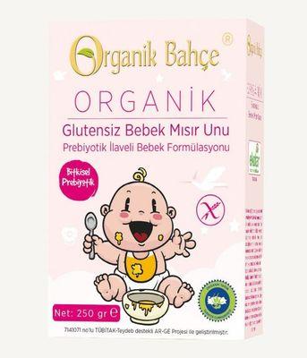 Organik Bahçe Organik Glutensiz Bebek Mısır Unu 250g
