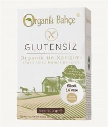 Organik Bahçe - Organik Bahçe Organik Glutensiz Tatlı Unlu Mamüller için Un Karışımı 500gr