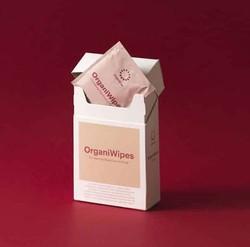 OrganiCup - OrganiWipes Temizleme Bezi 10 adet