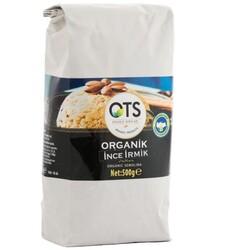 Ots - Ots Organik İnce İrmik 500g