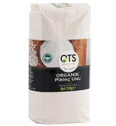 Ots - OTS Organik Pirinç Unu 750g (skt)
