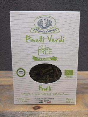 Rustichella d'abruzzo Organik Glutensiz Yeşil Bezelye Makarnası