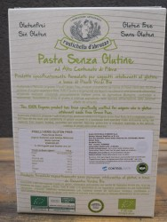 Rustichella d'abruzzo Organik Glutensiz Yeşil Bezelye Makarnası - Thumbnail