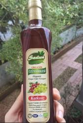 SAZLICA - Sazlıca Organik Üzüm Sirkesi 500 ml