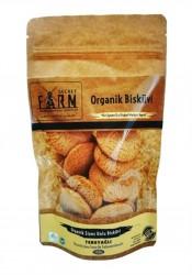 SECRET FARM - Secret Farm Organik Tereyağlı Siyez Unlu Bisküvi 100gr.
