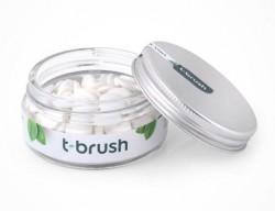 t-brush - t-brush Nane Aromalı Diş Macunu Tableti-Florürsüz