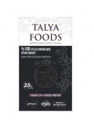 Talya Foods - Talya Foods Filizlenmiş Glutensiz Siyah Nohut Makarna 200g